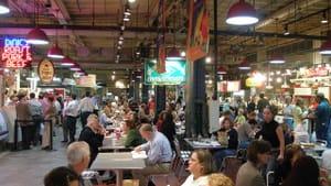 Reading Terminal Market: 'A splendid food culture,' says Bloomberg. (Photo via Creative Commons/Wikimedia.)
