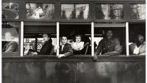 """""""Trolley, New Orleans,"""" Robert Frank, 1955. Photo used on the cover of """"The Americans"""""""