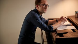 Scott Ordway is innovating music by mixing mediums. (Photo courtesy of Scott Ordway.)