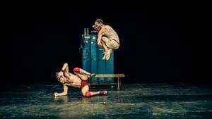 An instantaneous draw: Nicolás Poggi and Luciano Rosso in 'Un Poyo Rojo.' (Photo by Ishka Michocka.)