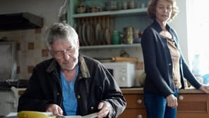 Taking each other's inner lives for granted: Courtenay and Rampling.