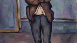 'Peasant Standing with Arms Crossed' by Paul Cézanne. (Image courtesy of the Barnes Foundation)