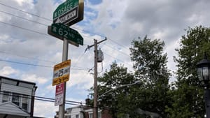 If not my history, then my legacy: Osage Avenue and 62nd Street. (Photo by Kyle V. Hiller.)