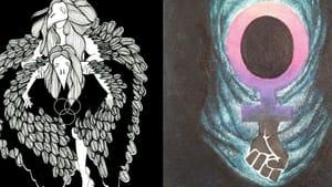 The covers of chapbooks from Neti Neti and Leena Taylor. (Images courtesy of Toho Publishing.)