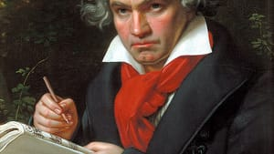 Sometimes less is more—even with Beethoven. (Painting by Joseph Karl Stieler)
