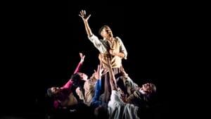 Stunning choreography melded motion and stillness in Rennie Harris's 'Lazarus.' (Photo by Paul Kolnik.)