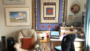 Your home workplace is your kingdom. Here's where the editing of BSR goes down. (Photo by Alaina Johns.)