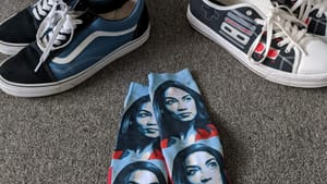 Representation is changing, right down to our socks. What do we do now? (Photo by Kyle V. Hiller.)