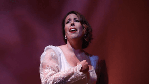 AVA second-year soprano JoAna Rusche as Tamara. (Photo by Dan Valentino)