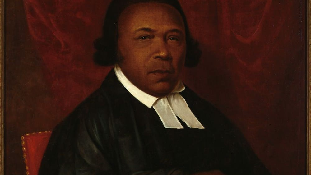Visitors want to know more about him: Absalom Jones, in an 1810 portrait by Raphaelle Peale. (Image courtesy of the Delaware Art Museum.)