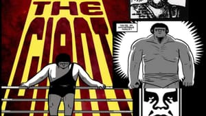 A bestselling graphic novel followed worldwide street art celebrating Andre. (Box Brown images courtesy of the artist.)