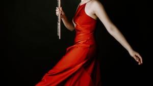 Annie Wu is an award-winning flutist. (Photo by Rachel Roberts Photography)
