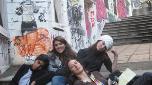 Learning and bliss to last a lifetime: Christina Anthony studied abroad in Chile in 2009. (Image courtesy of the author.)