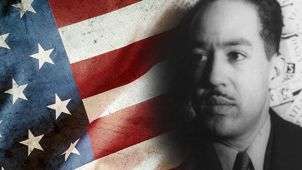 Langston Hughes stood his ground before Congress. (Image courtesy of REP.)
