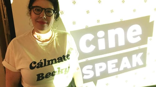 Community organizer Arika Gold also plays a role in CinéSPEAK's outreach. (Photo courtesy of Sarah Mueller.)