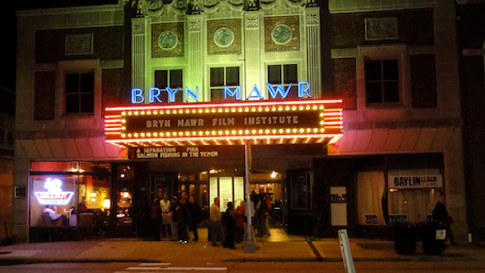Bryn Mawr Film Institute's memorable marquee. (Photo by Bart Everson via Creative Commons/Flickr.)