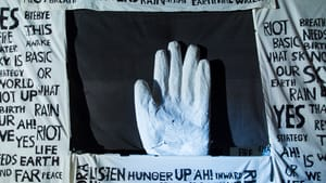 Bread and Puppet Theater hopes to activate better living through puppetry. (Photo via breadandpuppet.org.)