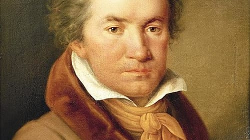 A more approachable Beethoven, in artist Joseph Willibrord Mähler's 1815 portrait. (Image via Wikimedia Commons.)
