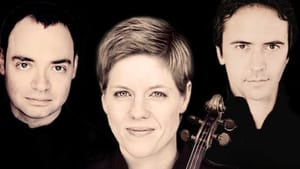 Energy, feeling, and wit: violinist Isabelle Faust, cellist Jean-Guihen Queyras, and pianist Alexander Melkinov. (Image courtesy of Princeton University Concerts.)