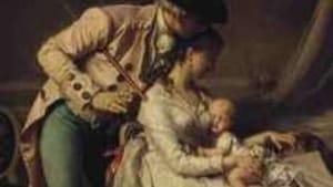 Jean Antoine Beranger's 'The Young Parents': My priorities changed.
