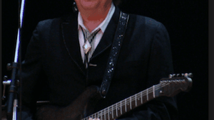 Bob Dylan in his 2016 tour hat. (Photo via Creative Commons/Wikimedia)