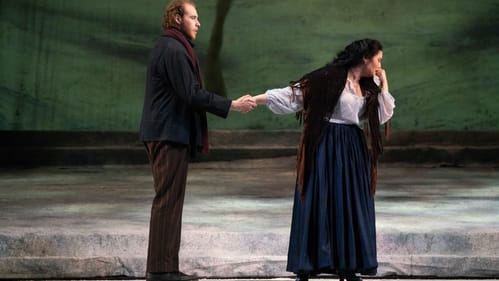 Great things are in store for Evan LeRoy Johnson and Vanessa Vasquez. (Photo by Steve Pisano for Opera Philadelphia.)