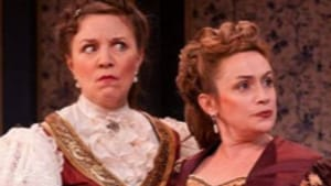 Gonglewski (left), O'Donnell: Rdiculous women who deserve each other. (Photo: Mark Garvin.)