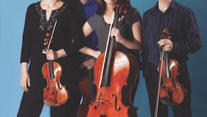 The Brentano Quartet. (Photo courtesy of the Philadelphia Chamber Music Society)