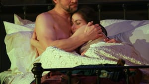 Swoon-worthy? Gregg Goodbrod and Sarah Gliko in 'The Bridges of Madison County.' (Photo by Paola Nogueras.)