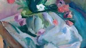"""Quita Brodhead, """"Vase with Tulips"""""""