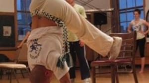 Capoeira class at the Community Education Center, which nearly lost its funding.