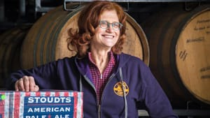 Carol Stoudt is a legend in America's craft brewing history. (Photo courtesy National Liberty Museum)