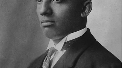 Historian, author, and journalist Carter G. Woodson (1875-1950) was a founding scholar of African American history whose advocacy helped launch what we now call Black History Month. (Image via Wikimedia Commons.)