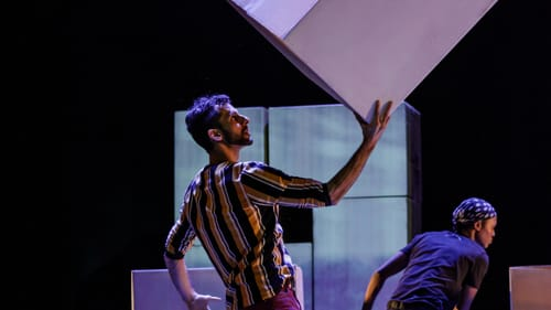 The show explores real worlds and the ones we have in our imagination. (Photo by Elman Studio.)