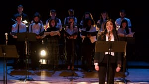Power and passion: Amanda Robles and the ensemble of 'Chess the Musical' at 11th Hour. (Image courtesy of 11th Hour.)