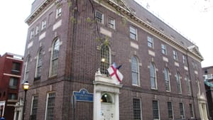 Christ Church Neighborhood House is a staple in the arts scene in Old City. (Photo via Wikimedia Commons.)