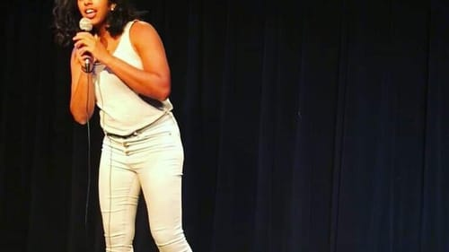 Confidence in imperfections: Christina Anthony onstage. (Image courtesy of the author.)