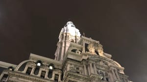 Is City Hall about to say goodnight to arts and culture in Philly? (Photo by Alaina Johns.)