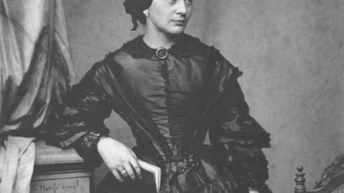 A mother of eight, pianist, and composer: Clara Schumann in 1857. (Image via Wikimedia Commons.)