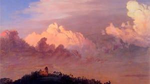 """Clouds over Olana,"" Frederic Edwin Church, 1872"