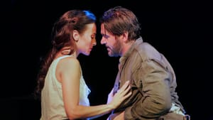 Isabel Leonard and Nathan Gunn as Ada and Inman in the Santa Fe production of 'Cold Mountain.' Photo by Ken Howard.