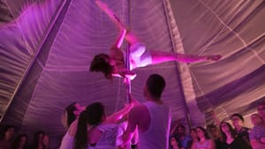 Brave Space visits Philly for an intimate blanket-fort circus. (Photo provided by Shayna Swanson.)