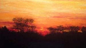 'Crescendo': Is that sun rising or setting?