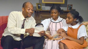 In Nottage's family drama, Father doesn't always know best. (Photo courtesy of South Camden Theatre Company.)