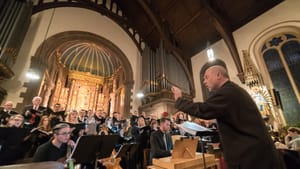 Choral Arts will take its annual NYE concert online this year. (Photo courtesy of Choral Arts Philadelphia.)