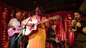 Easier to get onstage in Philly than in Media: Danie Ocean performs at Chestnut Hill's Paris Bistro in 2018. (Image courtesy of the artist.)