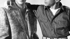 """Publicity photo of Dean Martin and Frank Sinatra from """"The Dean Martin Show."""" (Creative Commons via Wikimedia)"""