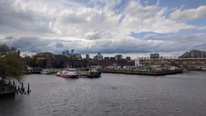 The Delaware river could creep into the edges of our city within our lifetime, but we can help prevent that, beginning today. (Photo by Kyle V. Hiller.)