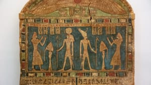 Could you read this funerary stela in the museum? How about in the field? (Image courtesy of Dorling Kindersly/Penn Museum.)