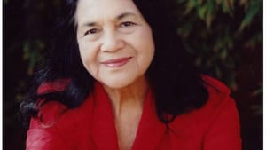 """Huerta in 2009, from the Denver """"Creating Change"""" conference on LGBT issues — yet another beneficiary of her activism and advocacy. (Photo by Freedom to Marry, via Creative Commons/Flickr.)"""